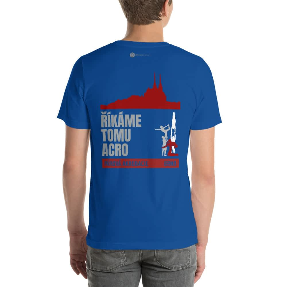 CZ Brno - Rikame tomu acro t-shirt True Royal back