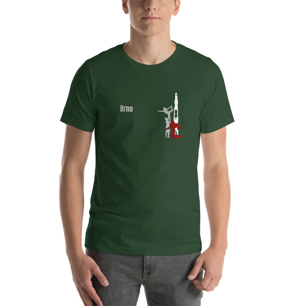 CZ Brno - Rikame tomu acro t-shirt forest front