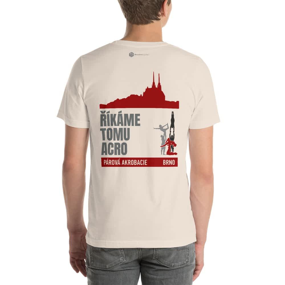 CZ Brno - Rikame tomu acro t-shirt soft cream back