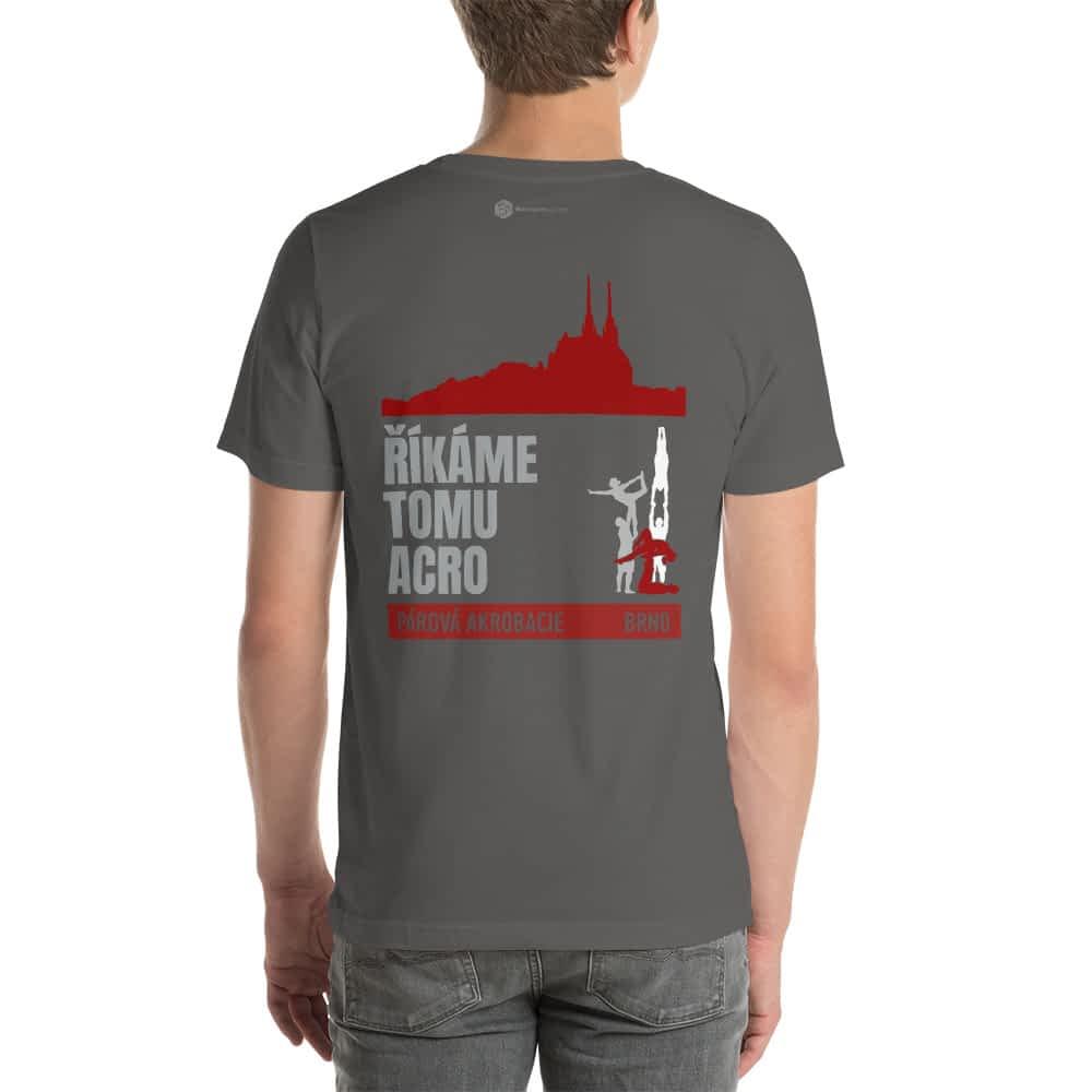 CZ Brno - Rikame tomu acro t-shirt asphalt back