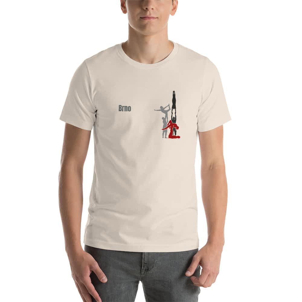 CZ Brno - Rikame tomu acro t-shirt soft cream front