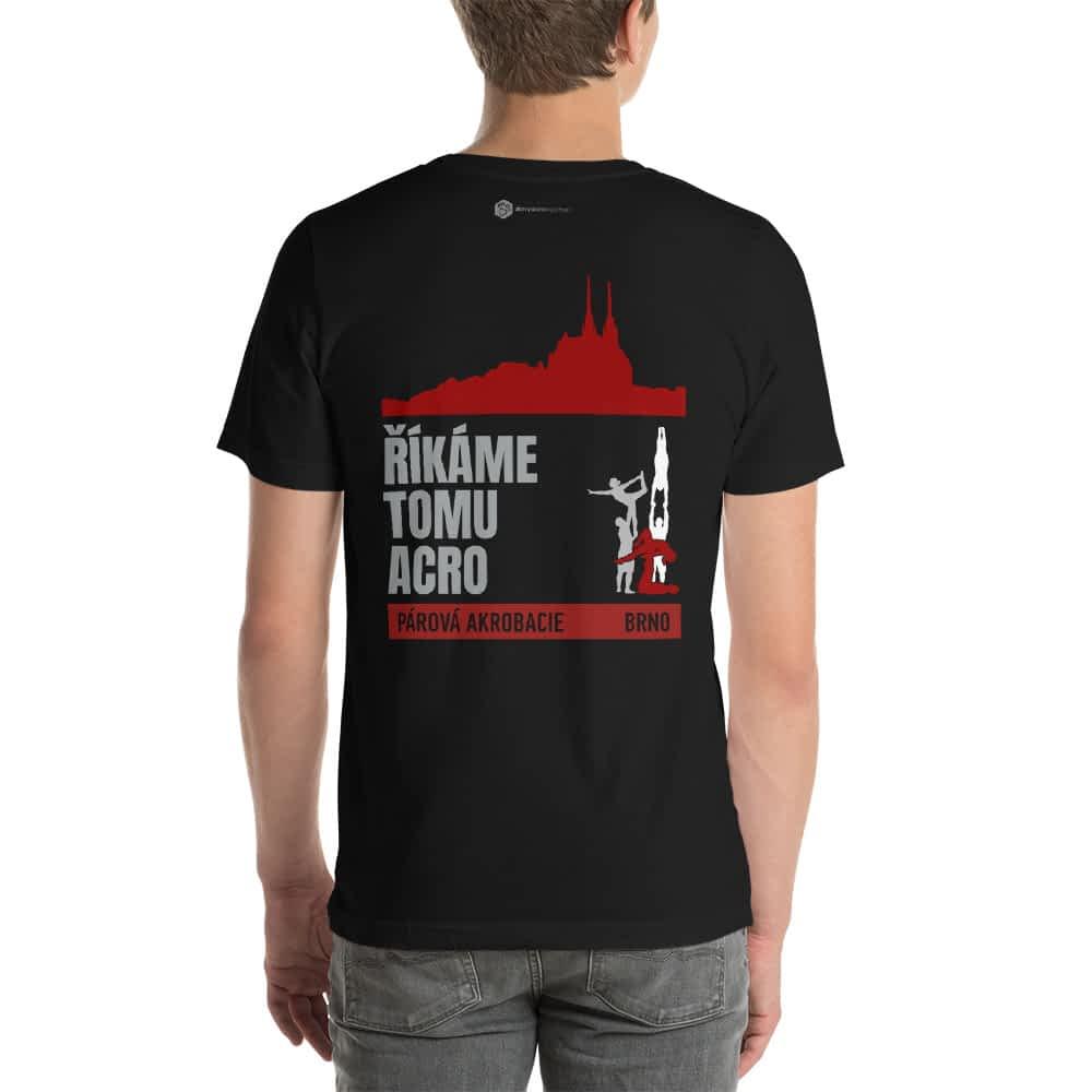 CZ Brno - Rikame tomu acro t-shirt black back