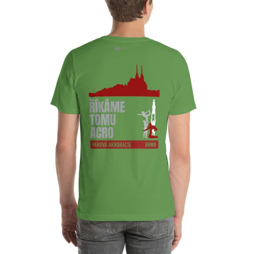CZ Brno - Rikame tomu acro t-shirt leaf back